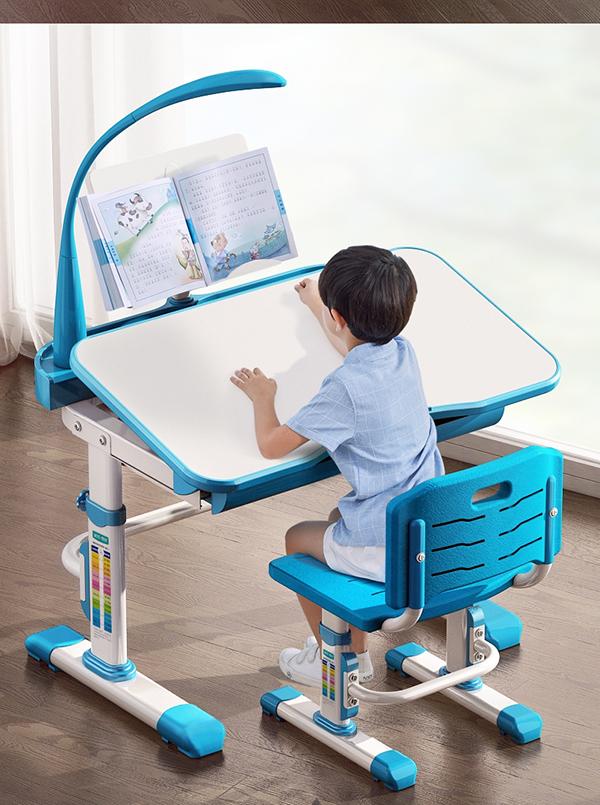 Bàn ghế chống gù chống cận xanh